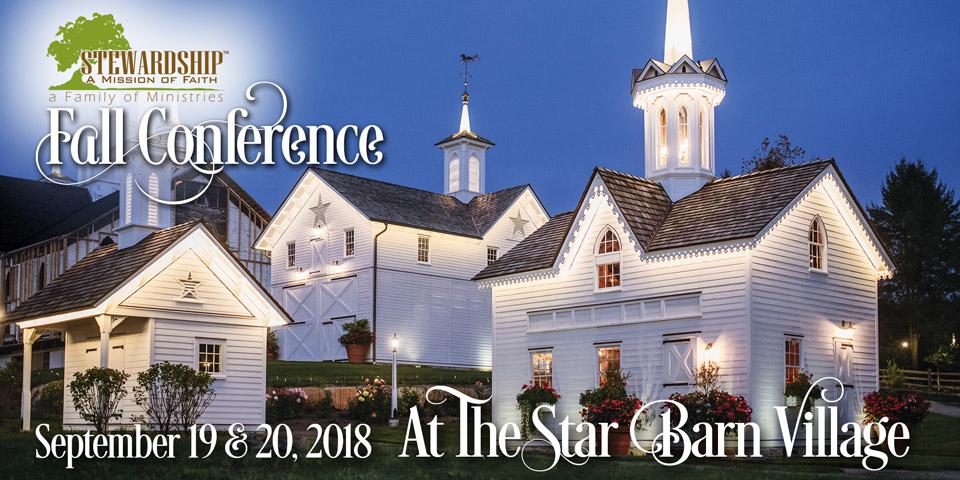 Damon Owens – Stewardship Fall Conference @ The Star Barn Village