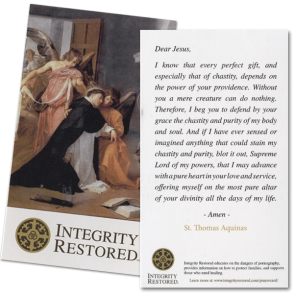 Integrity Restored Prayer Card